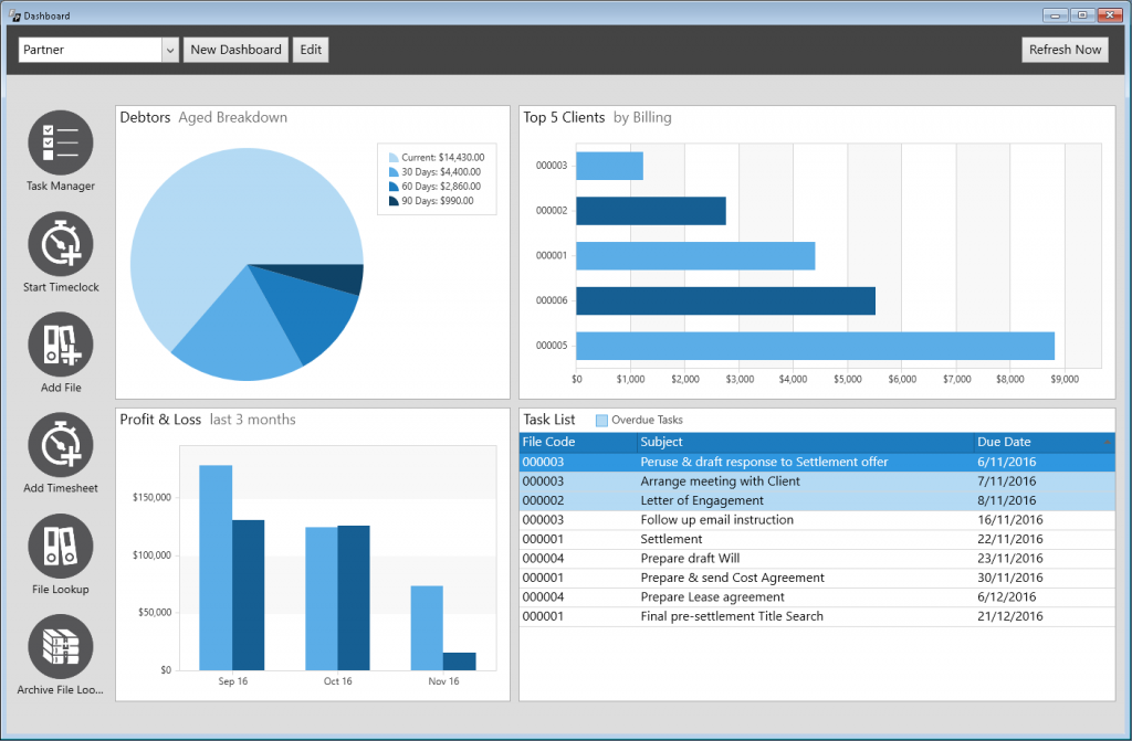 filepro legal practice management software review